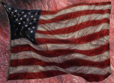 Old Glory Art Print by Jack Zulli