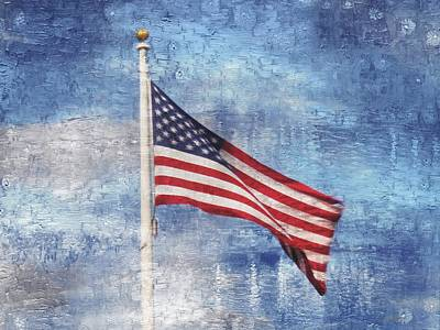 Photograph - Old Glory by Joe Duket