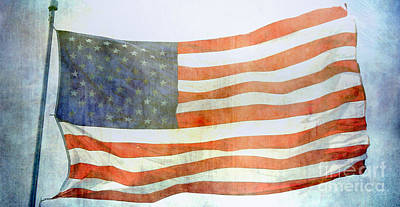 Photograph - Old Glory by Julie Clements