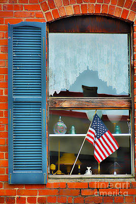 Photograph - Old-glory by Ken Johnson