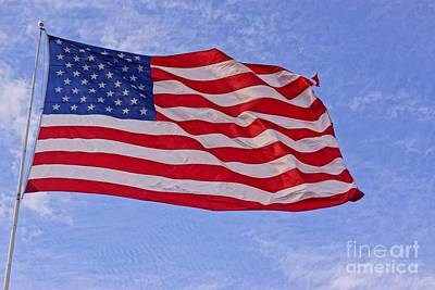 Photograph - Old Glory by Kerri Mortenson