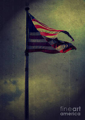 Photograph - Old Glory by Lena Auxier