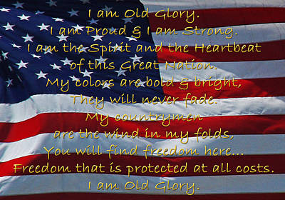 Photograph - Old Glory by Robyn Stacey