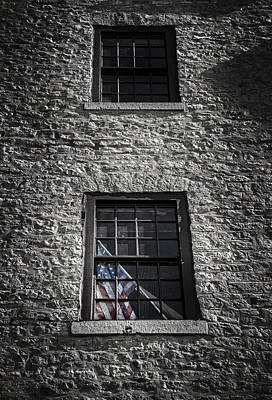 Old Glass Photograph - Old Glory by Scott Norris