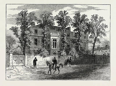 Old Gore House, In 1830 Art Print