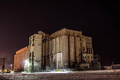 Cp Rail Photograph - Old Grain Elevators by Jakub Sisak