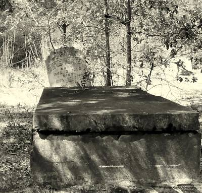 Photograph - Old Grave by Debra Forand