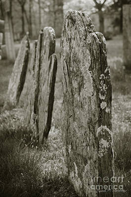 Old Gravestones I Art Print by Dave Gordon