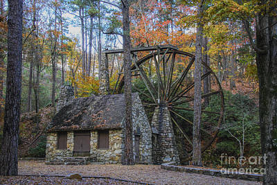 Photograph - Old Grist Mill 2 by Barbara Bowen