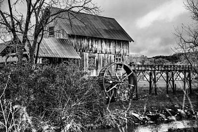 Photograph - Old Grist Mill by Greg Sharpe