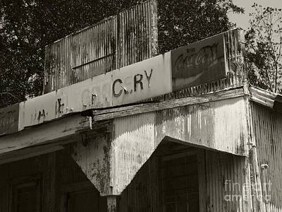 Photograph - Old Grocery Store by Tom Brickhouse