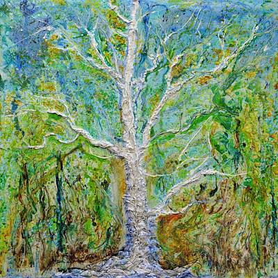 Painting - Old Growth by Regina Valluzzi