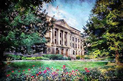 Old Guilford County Courthouse Summertime Art Print