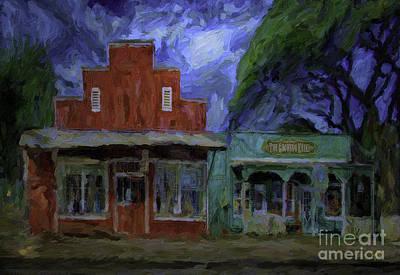 Iwa Digital Art - Old Hale'iwa Town by Patrick J Gallagher