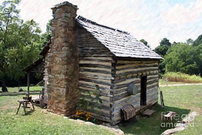 Photograph - Americana Farm House by Doc Braham
