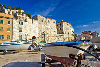 Photograph - Old Harbor In Sibenik Town by Brch Photography