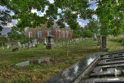 Photograph - Old Harmony Cemetery by Arthur Fix