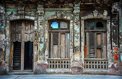 Old Havana House Art Print