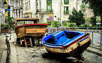 Citiscapes Photograph - Old Havana by Karen Wiles