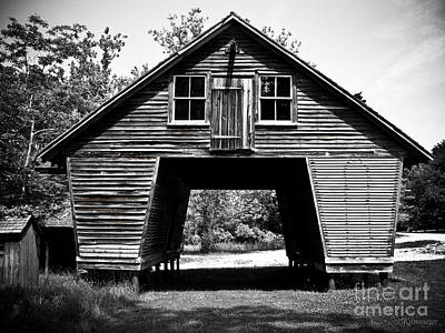 Corn Cribs Photograph - Old Corn Crib by Colleen Kammerer