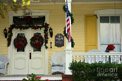 Classic Christmas Movies - Old Historical Doors by Bob Sample
