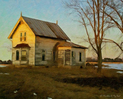 Painting - Old Home Place by Melody McBride