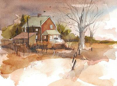 Old Home Place Painting - Old Home Place by Robert Yonke
