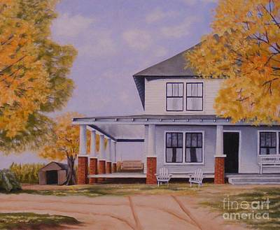 Painting - Old Home Place by Susan Williams