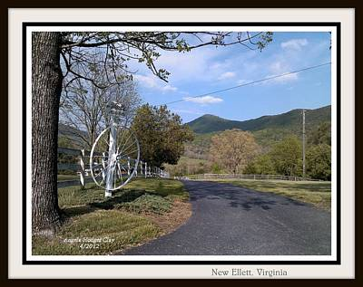 Digital Art - Old Homeplace In New Elliett Va by Angelia Hodges Clay