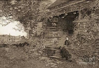 Old Homestead 1890 Art Print