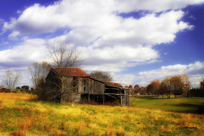 Autumn Photograph - Old Homestead by Alan Hausenflock