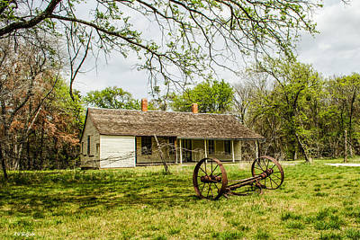 Photograph - Old Homestead by Allen Sheffield