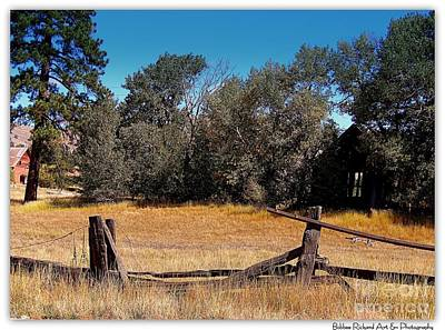 Photograph - Old Homestead by Bobbee Rickard