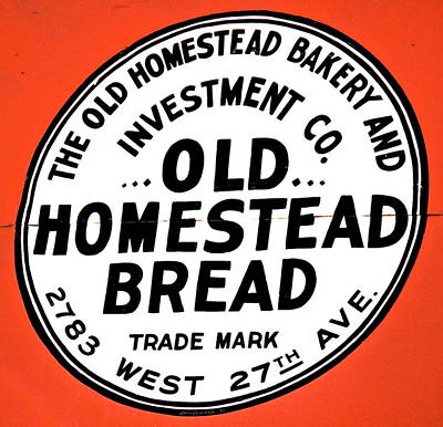 Photograph - Old Homestead Bread by Jeff Gater