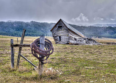 Photograph - Old Homestead by David Martorelli