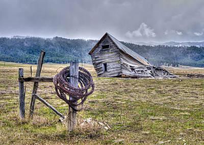 Photograph - Old Homestead by David Martorelli