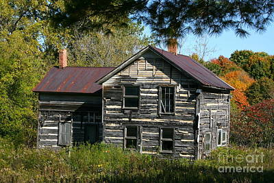 Photograph - Old Homestead by Joan McArthur