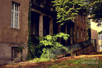 Photograph - Old Hospital In Berlin Buch by Art Photography