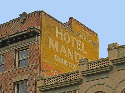 Photograph - Old Hotel by Dart and Suze Humeston
