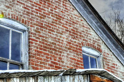 Jerry Sodorff Royalty-Free and Rights-Managed Images - Old House 13098 by Jerry Sodorff