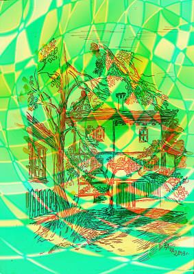 House Mixed Media - Old House by Ania Kaka