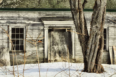 Old House By The Road Print by Susan Capuano