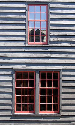 Art Print featuring the photograph Old House Greenfield Village Michigan by Mary Bedy
