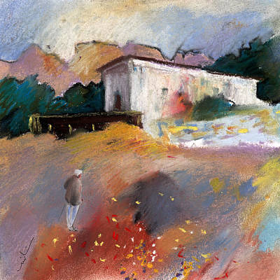 Old Houses Drawing - Old House In Altea La Vieja 01 by Miki De Goodaboom