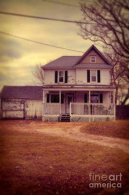 Photograph - Old House by Jill Battaglia
