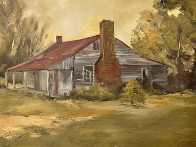 Painting - Old House by Lindsay Frost