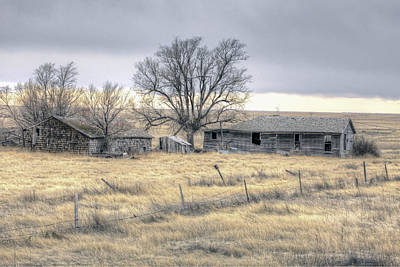 Photograph - Old House On Pawnee Grasslands Colorado. by James Steele