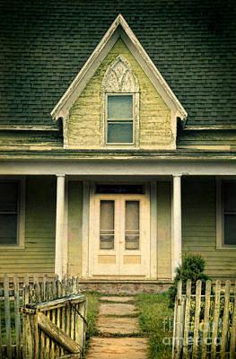Photograph - Old House Open Gate by Jill Battaglia