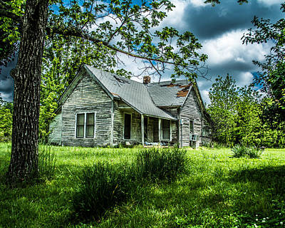 Bono Photograph - Old House by Randy Baugh