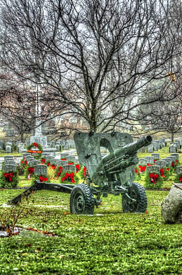 Photograph - Old Howitzer by Joshua McCullough